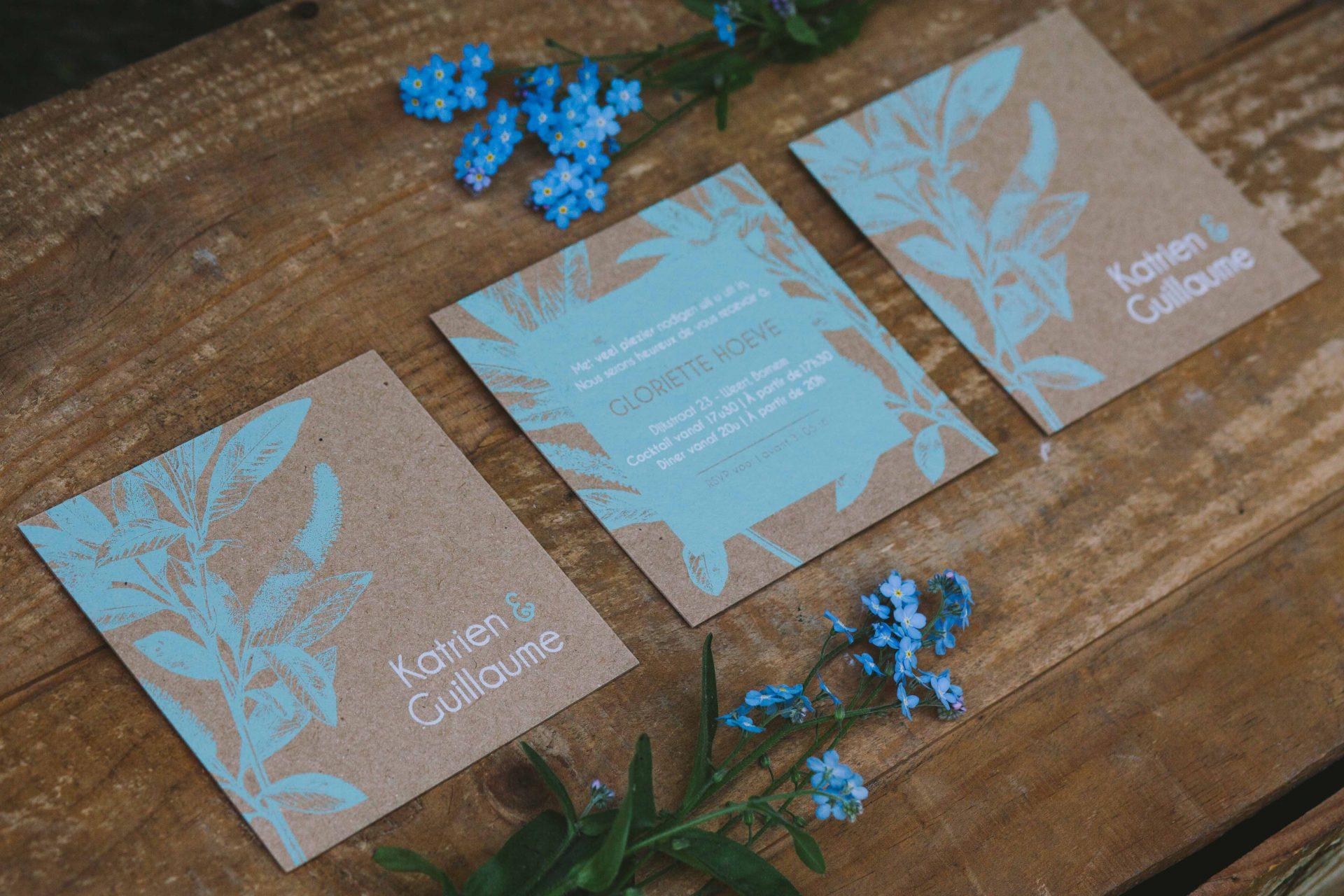 Grafisch Vormgever Huwelijksuitnodiging trouwkaart Grafisch Ontwerp